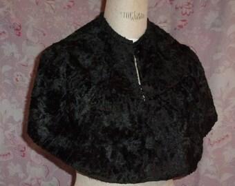small old black cloak or Cape, campaign