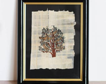 Real Papyrus Vintage - tree of life