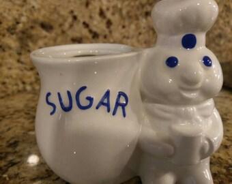 Cute Pillsbury Dough Boy Sugar Holder