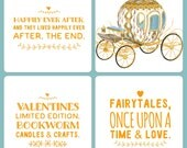 Valentines Limited Editions Candle - Fairytale inspired - Happily Ever After