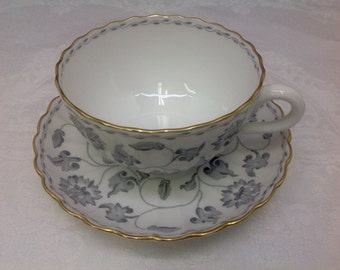 Spode Colonel teacup and saucer