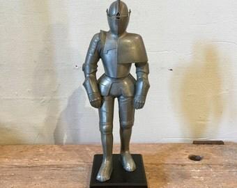 Knight Cigar Lighter, Figural Table Lighter, Ca: 1950s.