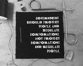 Anti Corporation Patch