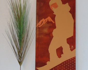 Snowboard Photo - Canvas Painting