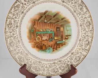 Imperial Salem 23K Gold Plate 1940s