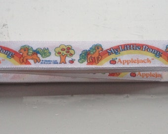 Vintage My Little Pony Applejack Ribbon. 1985.  Length 120 cm