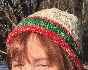 Snowy Christmas Hat - a gift for the season