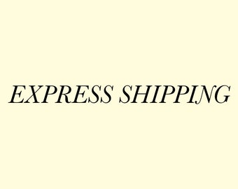 Express Shipping across the world, Price USD 10