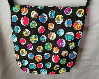 Pokeball Pokemon Messenger Style Fandom Bag