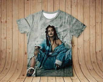 Rihanna full print t-shirt shirt all sizes