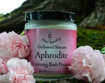 Aphrodite Foaming Bath Potion~For a Loving Bathing Ritual