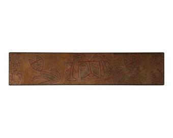 Peruvian Pre-Columbian Primitive Abstract Textile