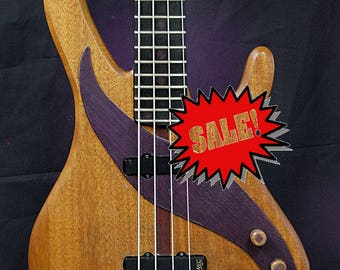 """Electric bass """"Natural Essence"""" by Luteria M&M"""