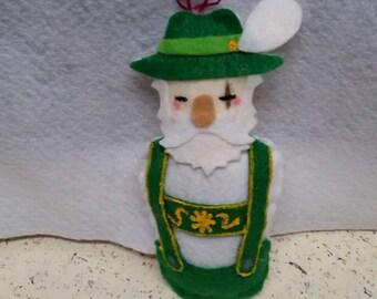 Reinhardt Overwatch Winter Wonderland Ornament/Charm