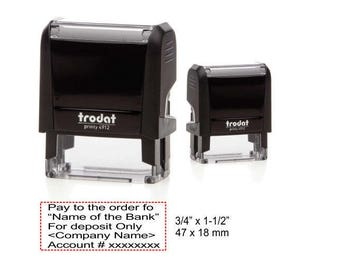 Trodat 4912 (Self Inking Rubber Stamp)