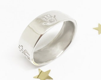 Personalised Handprint Ring