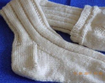 Hand Knitted Kilt Socks