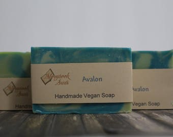 Avalon Cold Process Vegan Soap