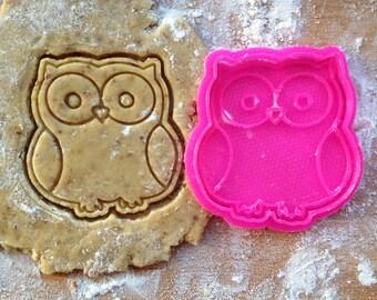 Owl cookie cutter. Bird cookie cutter
