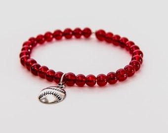 Let's Play Ball Beaded Bracelet