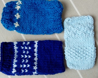 Phone cosy - Blue Collection
