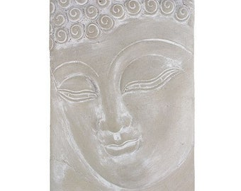 Beautiful Buddha Wall Plaque made of Concrete