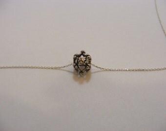Sterling Silver Handmade Bali Bead Style B426