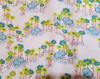 Sumbaland jungle elephant katy tanis by blend cotton woven