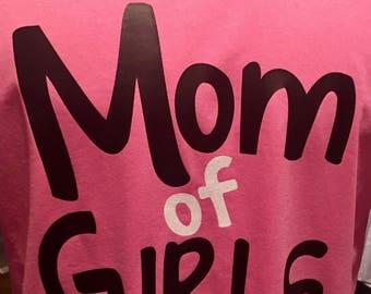 Mom of Girls T-shirt
