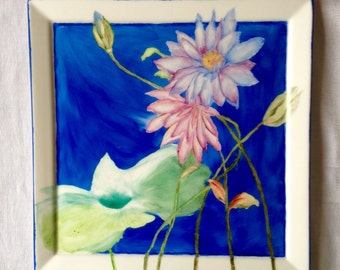 Waterlilly tile