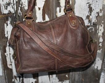 Soft Italian Leather Handbag