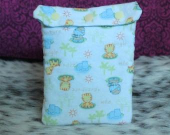 MEDIUM Safari Adult Pacifier Bag