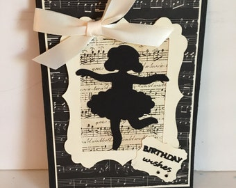 Young Dancer Birthday Card