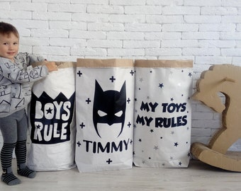 Custom Kraft Storage bag for toys