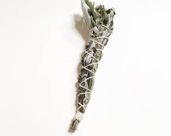Mugwort Mini Smudge Stick // Wild Harvested California Mugwort smudge // small incense stick // dream smudge // witchcraft tools // witchy