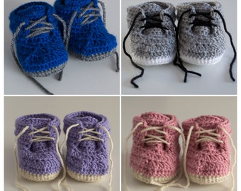 Crochet Boots - made to order