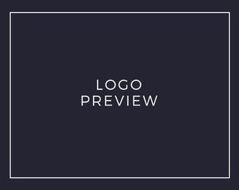 Preview of a Premade Logo / Logo Set