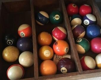 Vintage Pool Balls