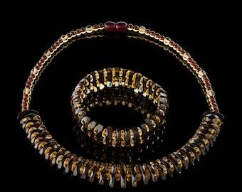 Amber Necklace & Bracelet 100% natural made to order HANDMADE