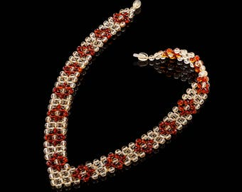 Amber Necklace , 100% Natural Baltic Amber beads, handmade,  hand cutted beads 5mm