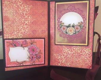 Flower Flip Fold Album