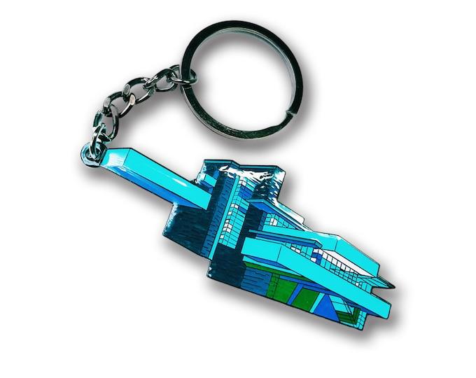 Falling Water Keychain