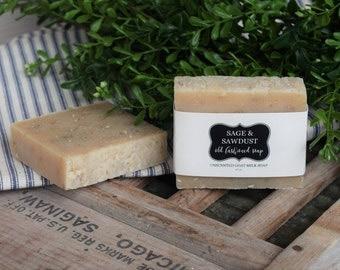 GOAT MILK SOAP - Old Fashioned Soap - Oatmeal - 4.5 oz.
