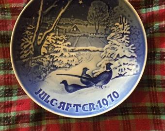 Vintage Bing & Grondahl Christmas plate 1970