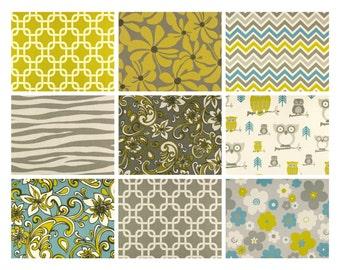 "Premier Prints ""Summerland"" Fabric Remnants/Scrap Packs - Free Shipping"