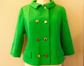 Mod 1960's I. Magnin Blazer Jacket