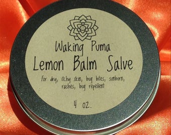 Lemon Balm Salve (Melissa officinalis)