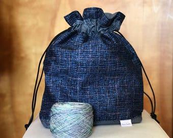 Outlander! Knitting Project Bag
