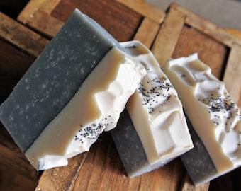 Lady Gray! Artisan Soap Creamy Lather - Coconut Milk - Sea Salt