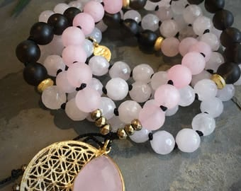 Sultry Heart Reiki Infused Mala